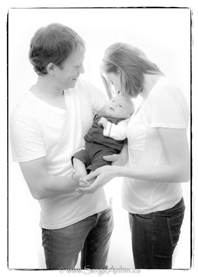 Photographe à domicile - Portrait de famille