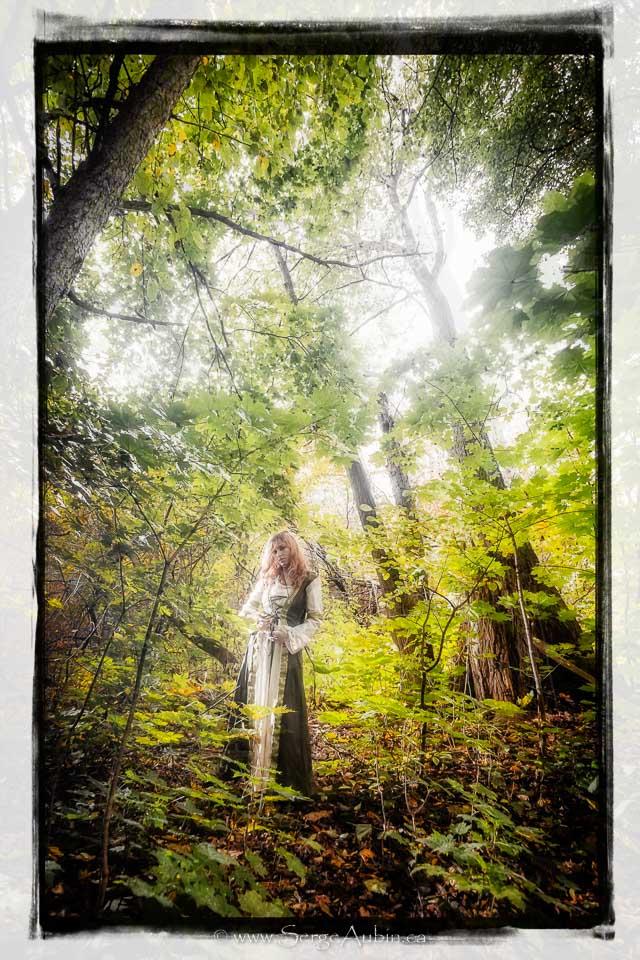 """Projet """"Dames de la Forêt"""" - Iris"""